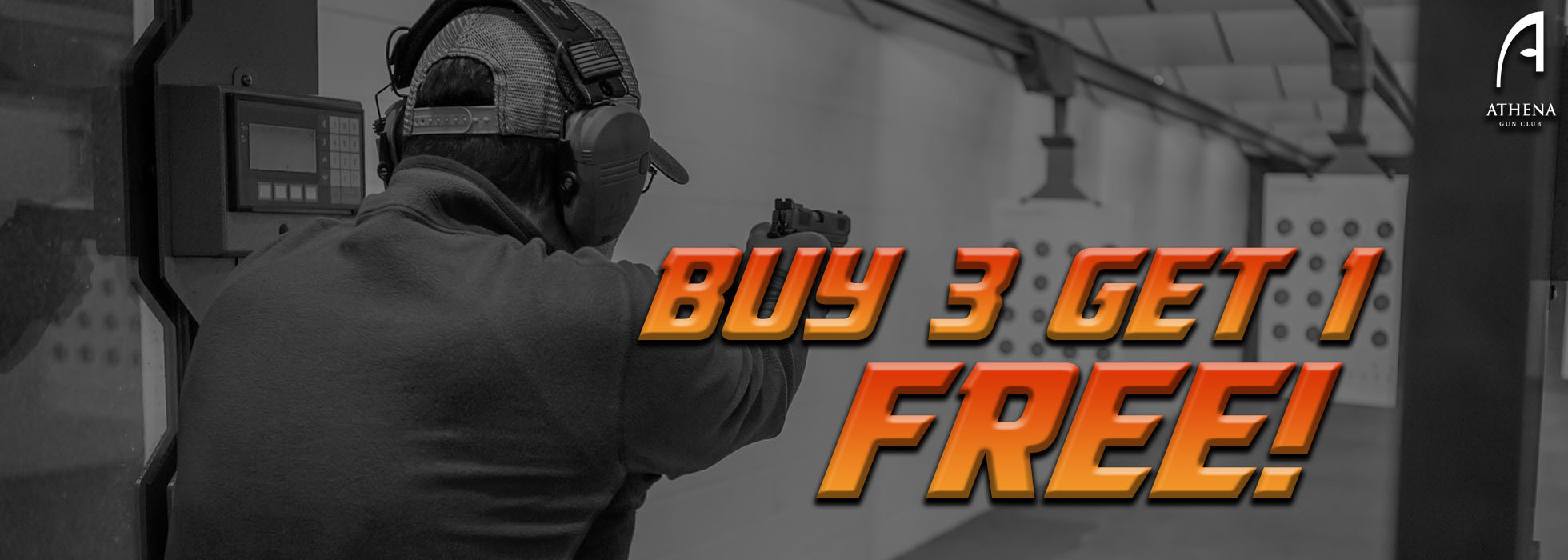 Buy 3 Private Sessions and Get 1 Private Session Free at Athena Gun Club in Houston, TX