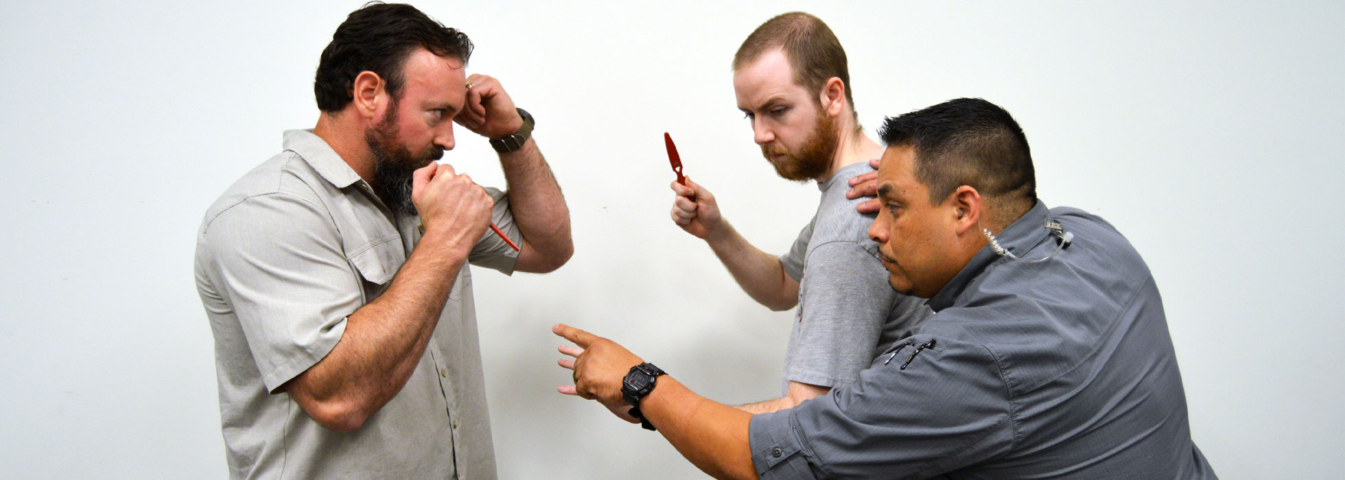 Knife Defense Classes at Athena Gun Club in Houston, TX
