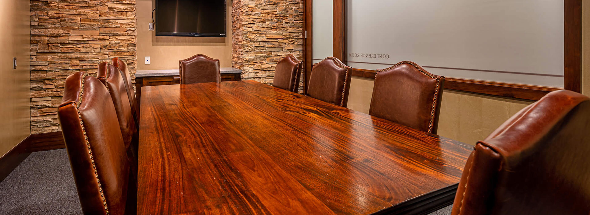 Conference Room at Athena Gun Club in Houston, TX