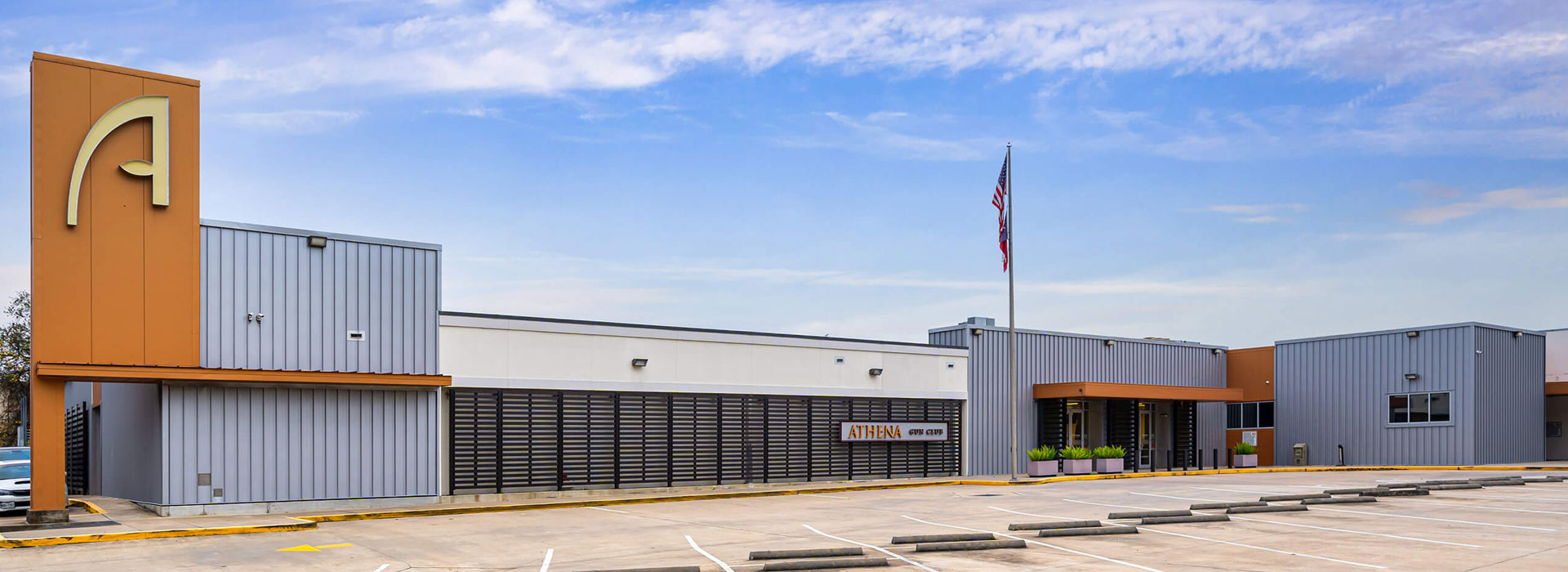 Welcome to Athena Gun Club in Houston, TX just off the Katy Freeway near Memorial City