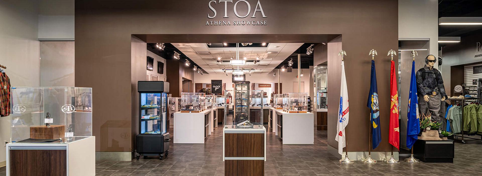 Retail Store at Athena Gun Club in Houston, TX